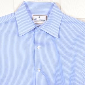 BrooksBros 15/33 Thomas Mason Dress Shirt MOP